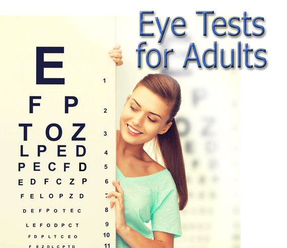 Adult Eye Test